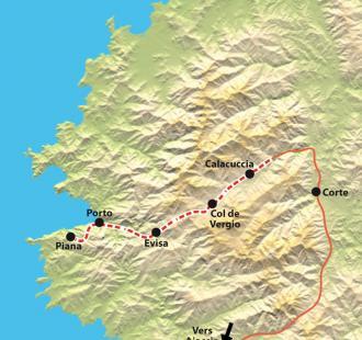 Carte De la Montagne à Mer