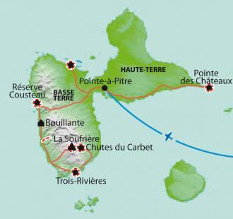 Carte L'île Papillon