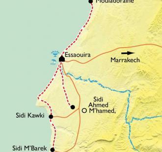 Carte Rando-Hammam à Essaouira