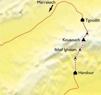 Carte Djebel Sagrho