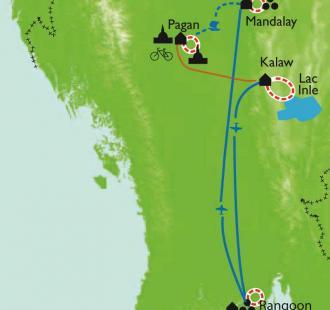 Carte Balades birmanes