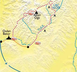 Carte Steppes et nomades
