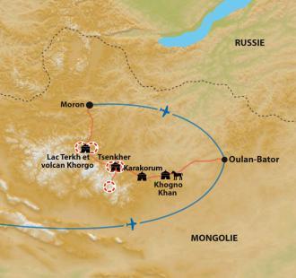 Carte Petits nomades et grandes rencontres