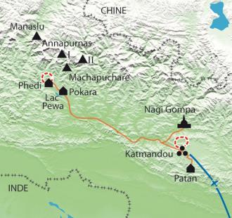 Carte NANA-masté, à la rencontre des femmes népalaises