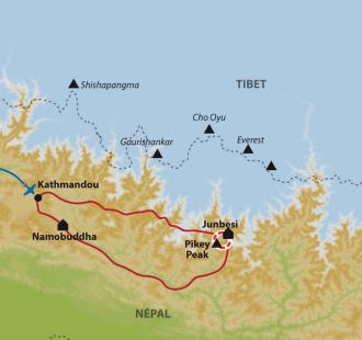 Carte Au pays des Sherpas