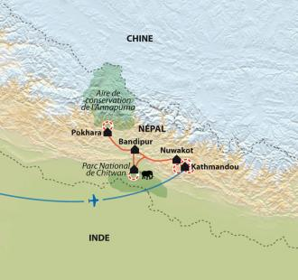 Carte Jungle et Himalaya