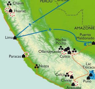 Carte L'intégrale du Pérou