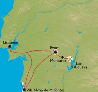 Carte Alentejo, la Toscane Portugaise