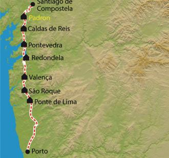 Carte De Porto à Santiago