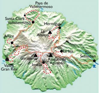 Carte Gomera, la isla ecologica