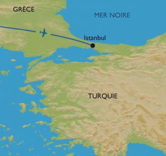 Carte Extension à Istanbul