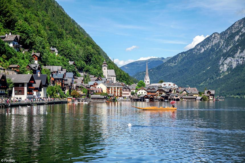 Voyage à pied : Les lacs du Salzkammergut
