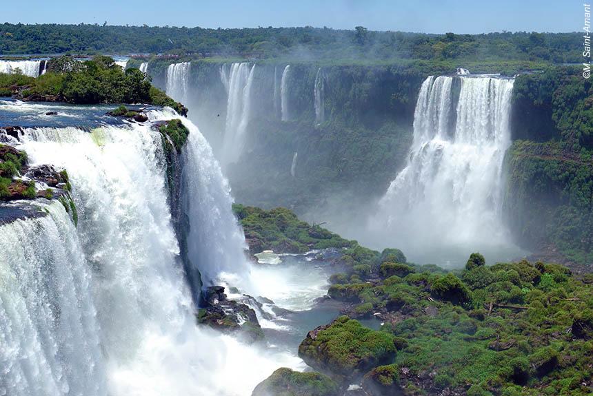 Voyage à pied : Chutes d\'Iguaçu