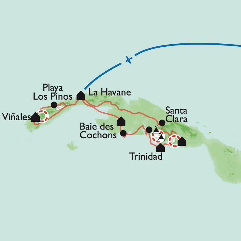 Itinéraire Selva, Sierra et Salsa