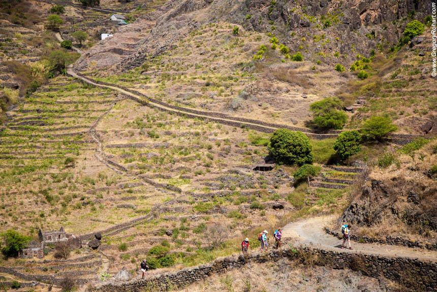 Voyage à pied Cap-Vert : Secrète Santo Antao