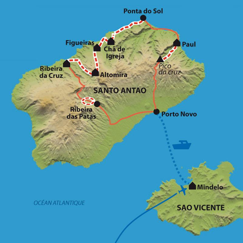Itinéraire Secrète Santo Antao