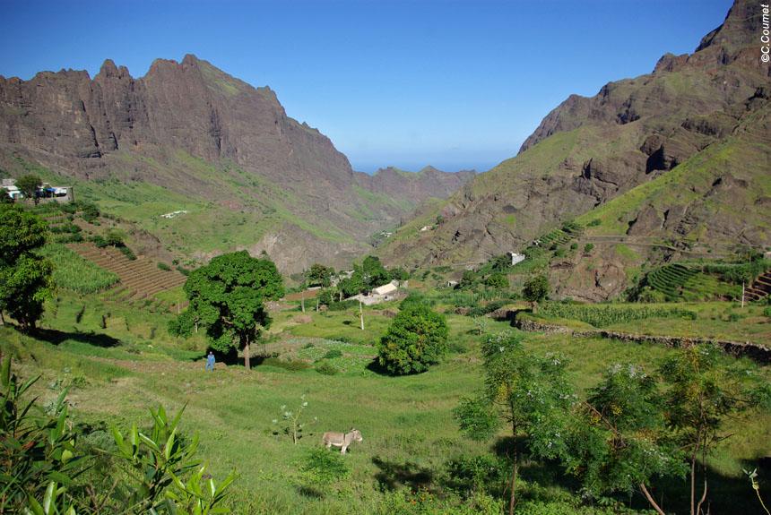 Voyage à pied Cap-Vert : Santo Antao, du côté vert au côté sec