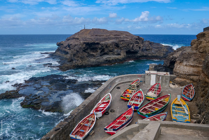 Voyage à pied Cap-Vert : Montagnes et vallées de Santo Antao