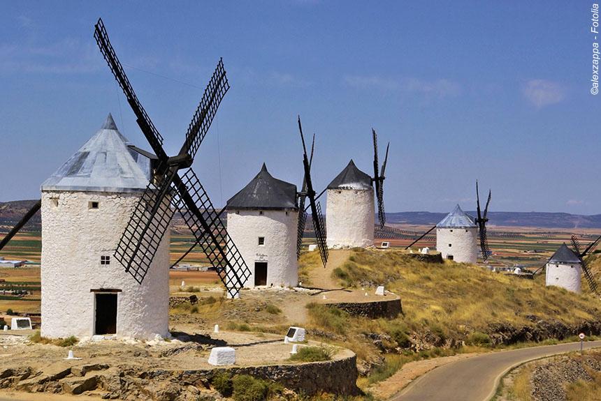 Voyage avec des animaux Espagne : Castille - La Mancha, sur les traces de Don Quijote
