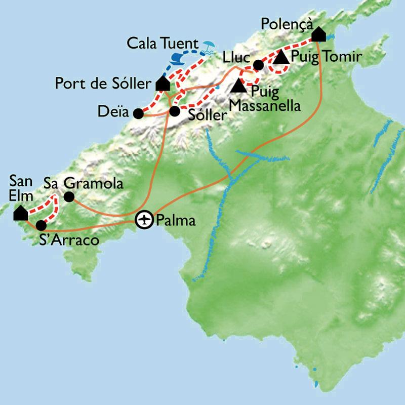 Itinéraire Baléares, la face cachée de Majorque