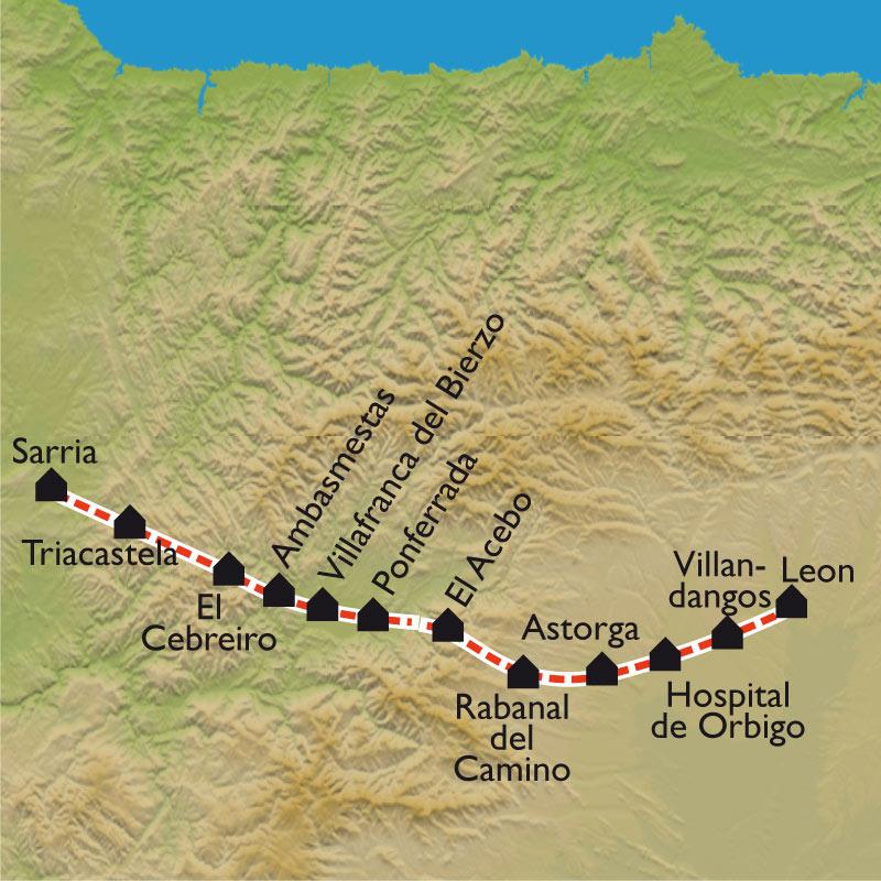 De León à Sarria « à petits pas »