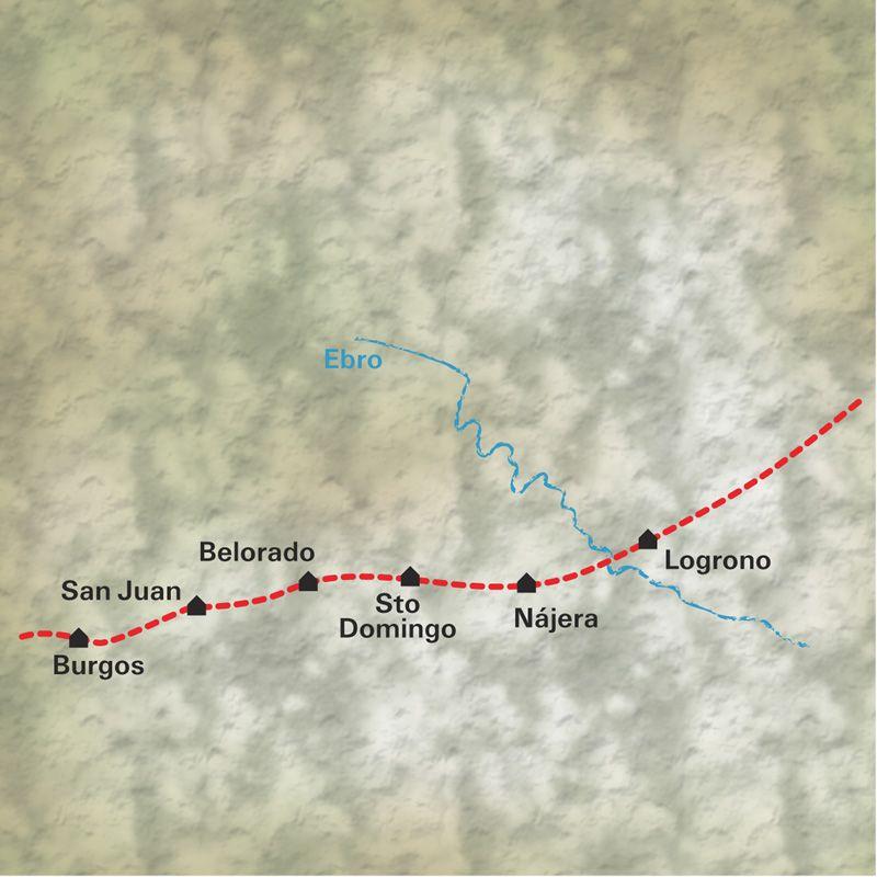 Itinéraire De Logroño à Burgos