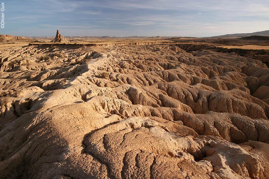 Image Bardenas Reales, le charme du désert dans les Pyrénées