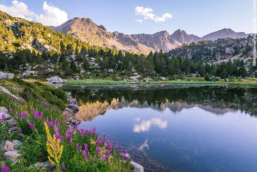 Voyage à thème : Lacs d\'Andorre, et bien-être à Caldéa