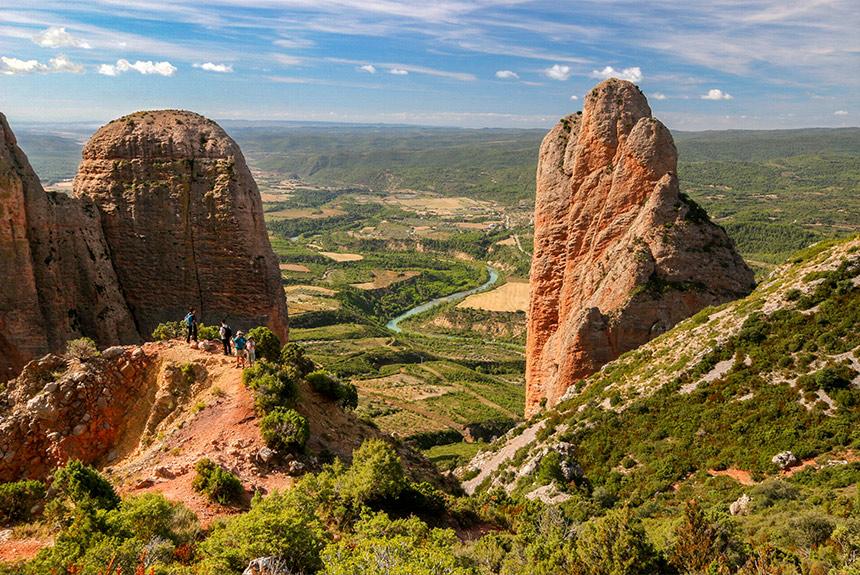 Voyage à pied Espagne : Citadelles de pierre en Aragon, de Jaca à Riglos
