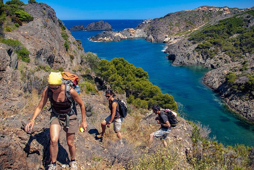 Voyage à pied Espagne : Collioure Cadaques entre mer et montagne