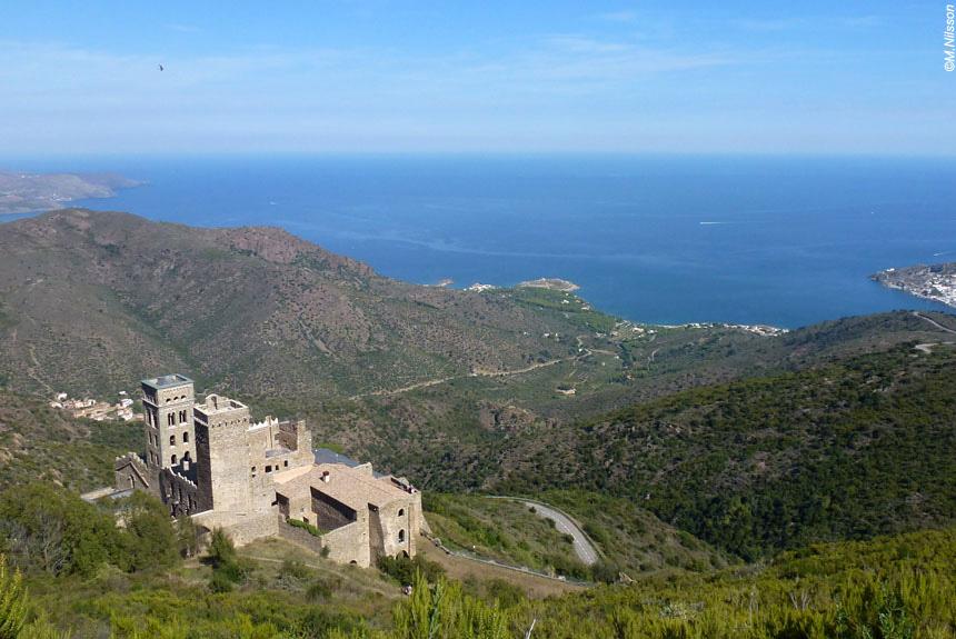 Image Collioure Cadaques entre mer et montagne