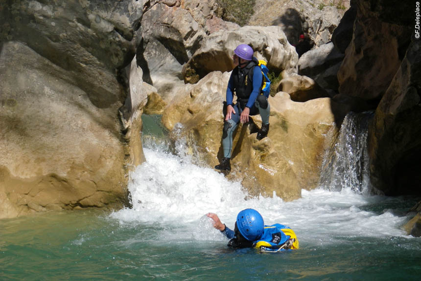 Image Escapade canyoning, version aventure