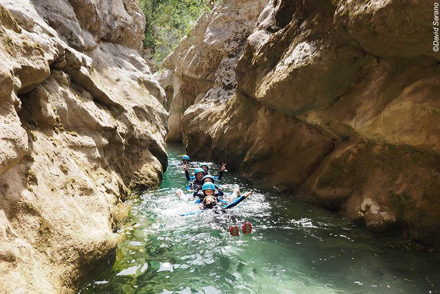 Voyage sur l'eau Espagne : Escapade canyoning, version découverte