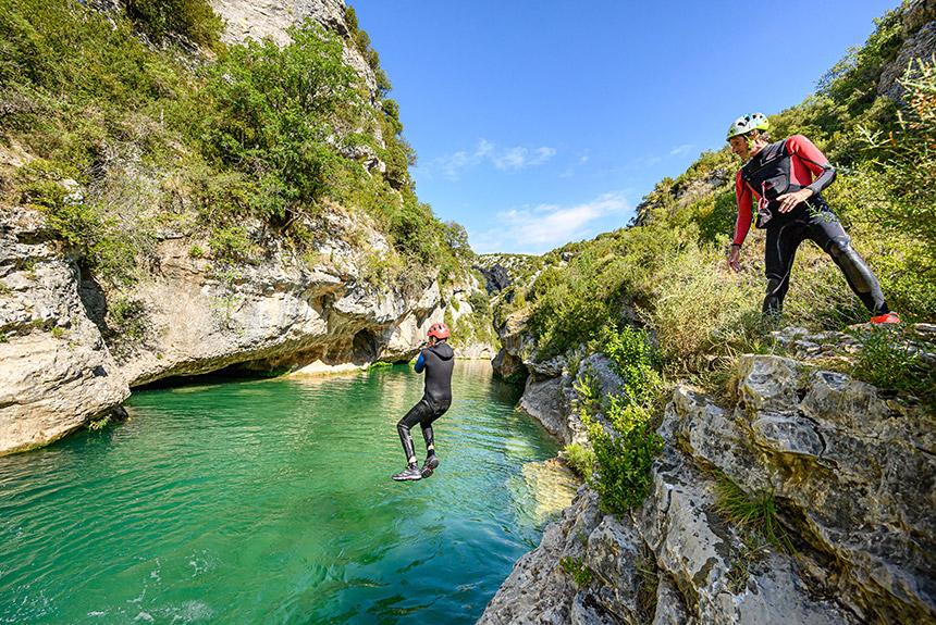 Voyage à pied Espagne : Les canyons de la Sierra de Guara, Programme Découverte