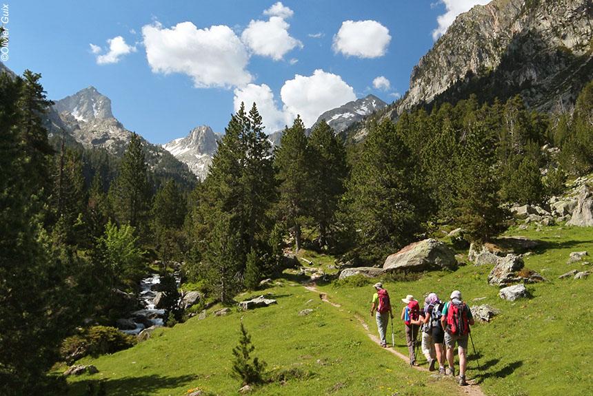 Voyage à pied Espagne : Val d\'Aran-Encantats, rando douillette