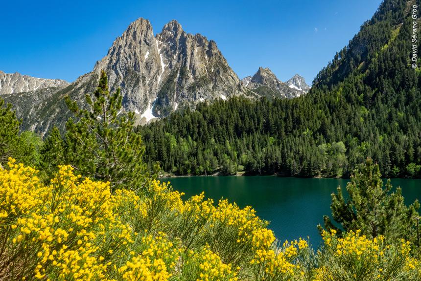 Voyage à pied Espagne : Les Encantats aux mille lacs, Parc National d\'Aigües Tortes