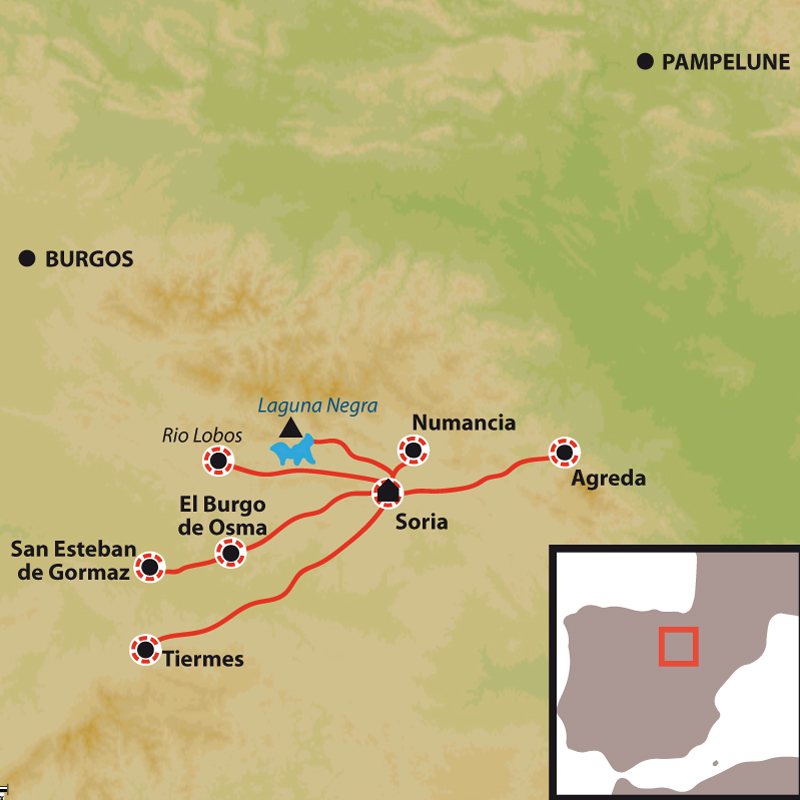 Itinéraire Hablar, Andar y Vivir a la española, Immersion linguistique à La Rioja, berceau du castillan