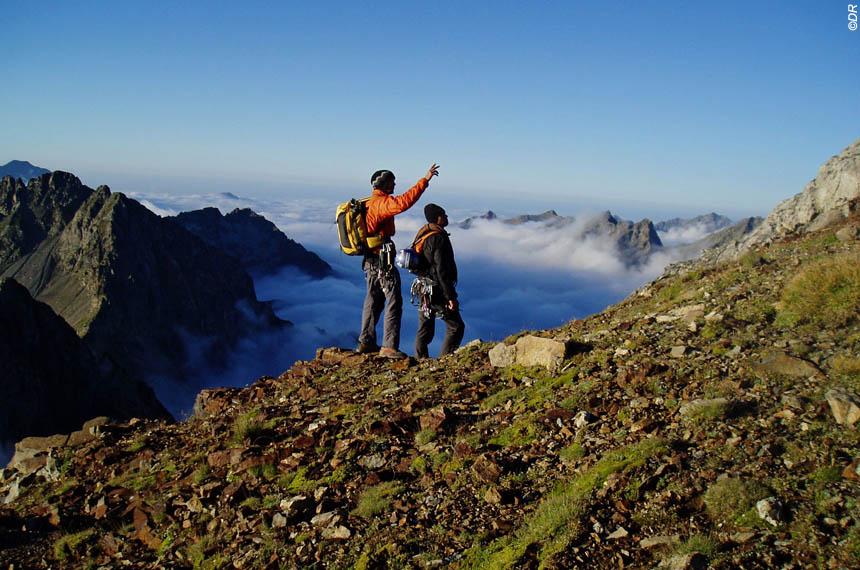 Voyage à la neige : Randos 3000, et ascension de l\'Ossau