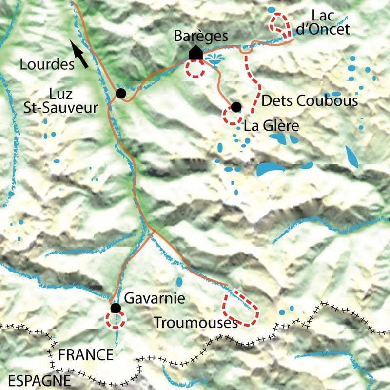 Itinéraire Balnéo Néouvielle-Gavarnie, la rando bien-être