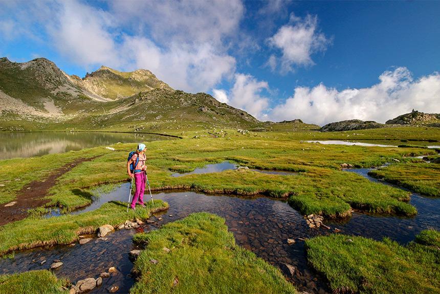 Voyage à pied : Néouvielle, la ronde des lacs