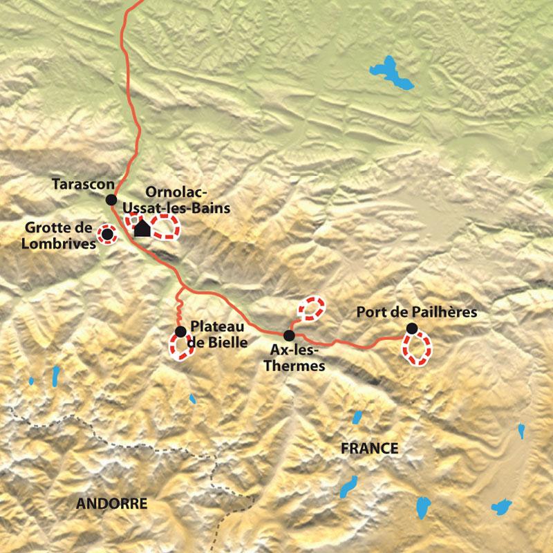 Itinéraire Montagne et Shiatsu en Ariège, Parc des Pyrénées Ariégeoises