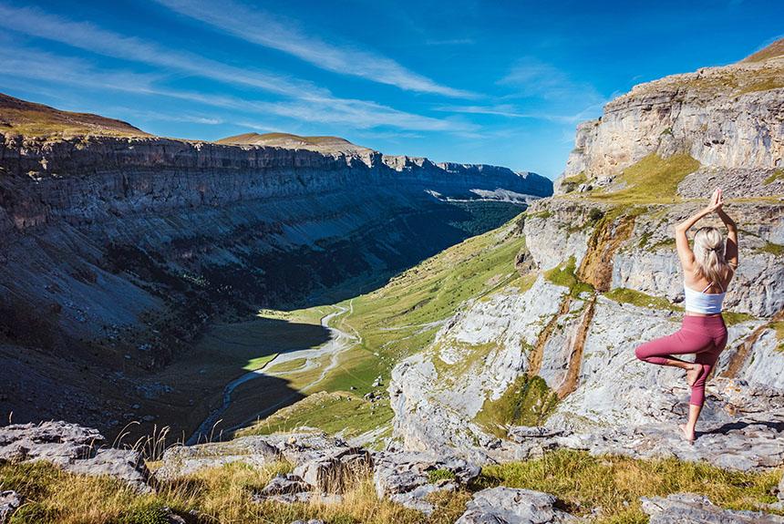 Voyage à thème : Randonnée Yoga en Aragon, parc National d\'Ordesa