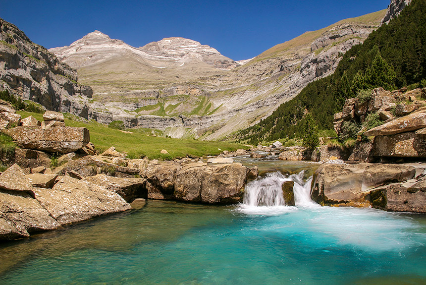 Image Randonnée Yoga en Aragon, parc National d'Ordesa