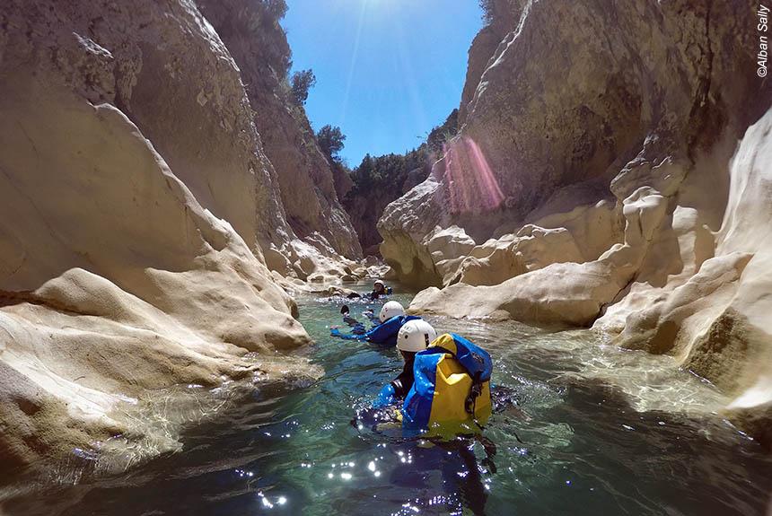 Image Canyons : faites le plein des sens !