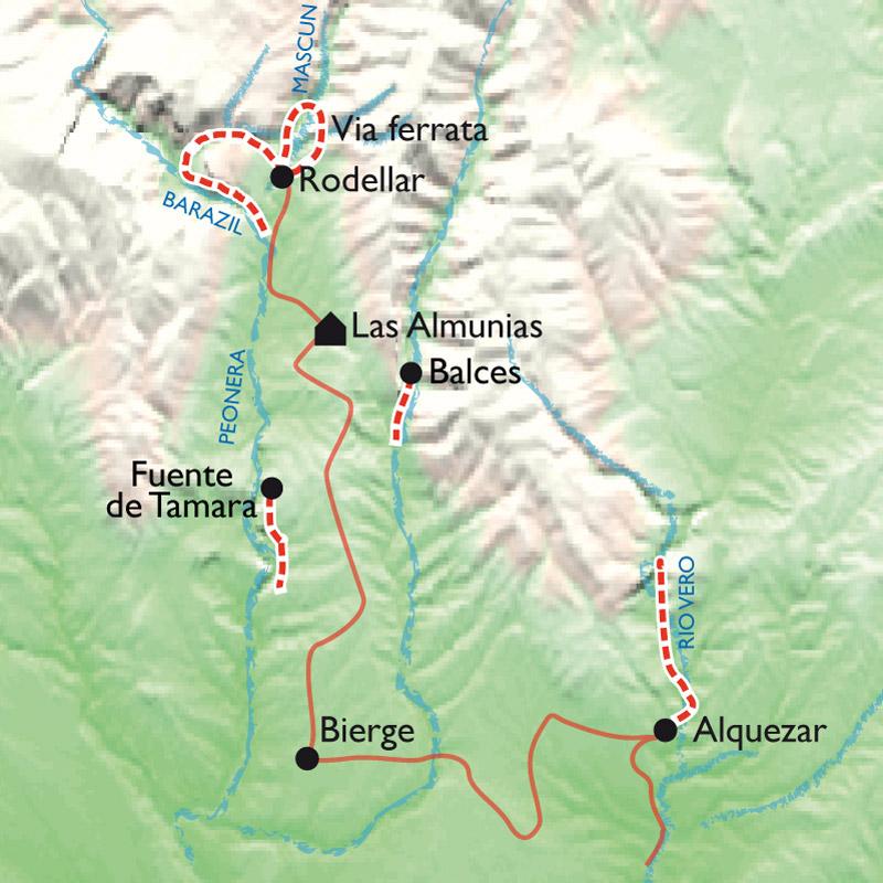 Itinéraire Canyons : faites le plein des sens !