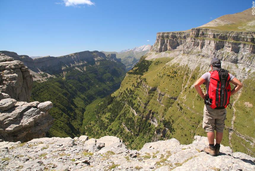 Voyage avec des animaux Espagne : Belvédères du Mont Perdu, par les canyons d\'Ordesa