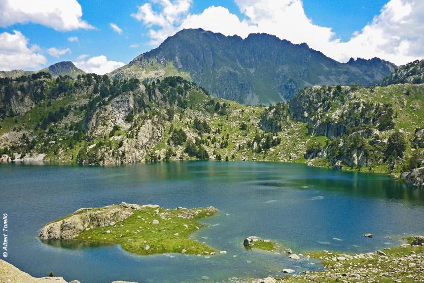 Image Traversée douillette des Encantats, de lacs en lacs