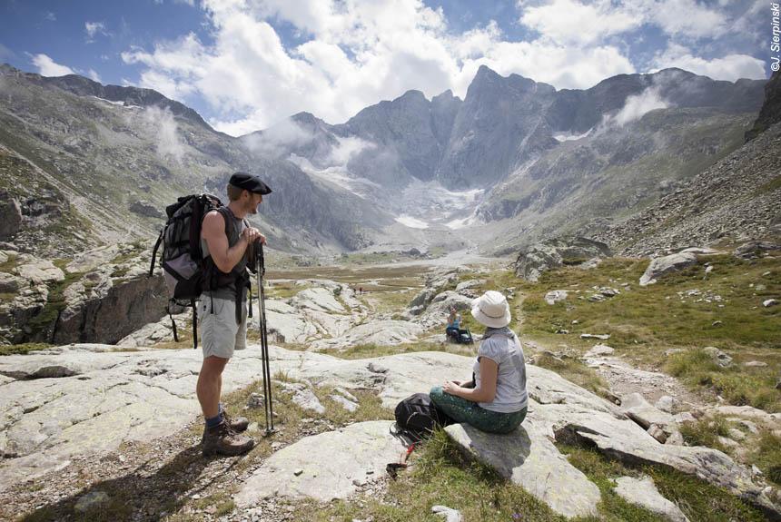 Voyage à pied France : Val d\'Azun, en compagnie de Stéphane...