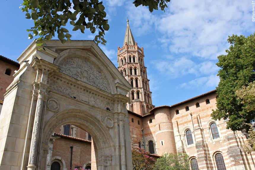 Voyage à pied France : Chemin de Compostelle: Le Chemin d\'Arles, Castres - Toulouse