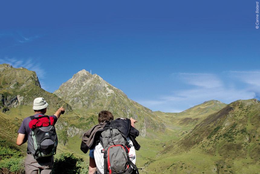 Voyage à pied France : Autour du Pic du Midi, retour vers le futur !